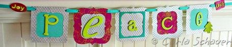 handmade peace banner sizzix blog hop